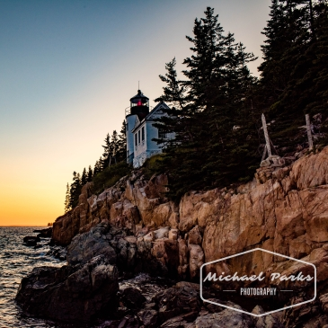 light house, sunset, rocks, oceans, trees